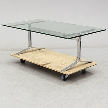 A 1960s coffee table.