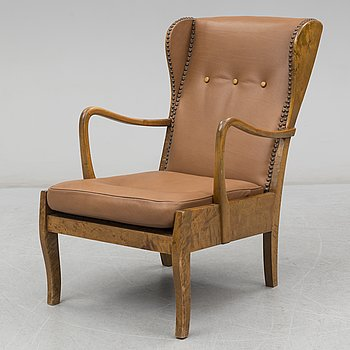 A 1930/40's lounge chair.