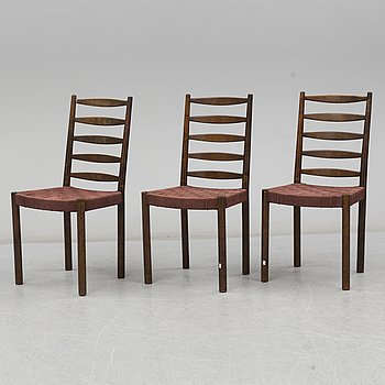 Three chairs from Gemla, Diö, 1930's.
