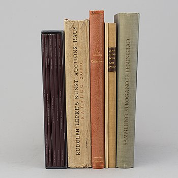 BOOKS/CATALOGUES, 6 vol. Collections.
