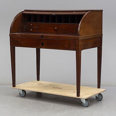 Rullklaffssekretär, 1800-tal.