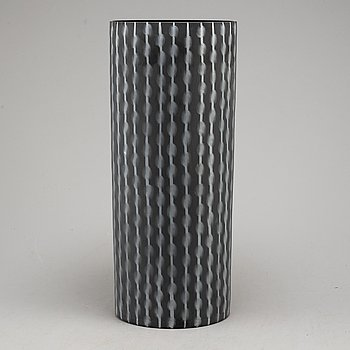An Ingegerd Råman glass vase, for Orrefors, signed and numbered 28/200, dated 2005.