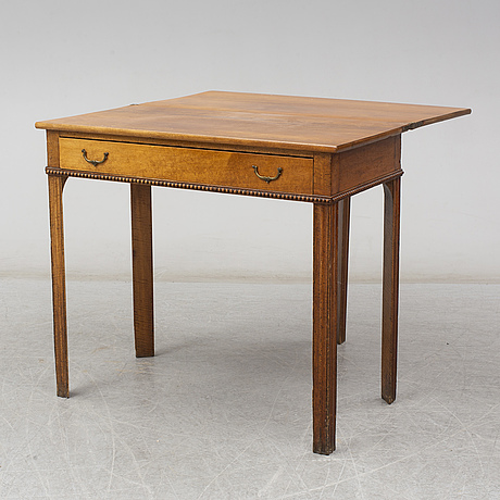 A second half of the 19th century table
