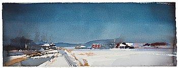 77. Lars Lerin, Untitled.