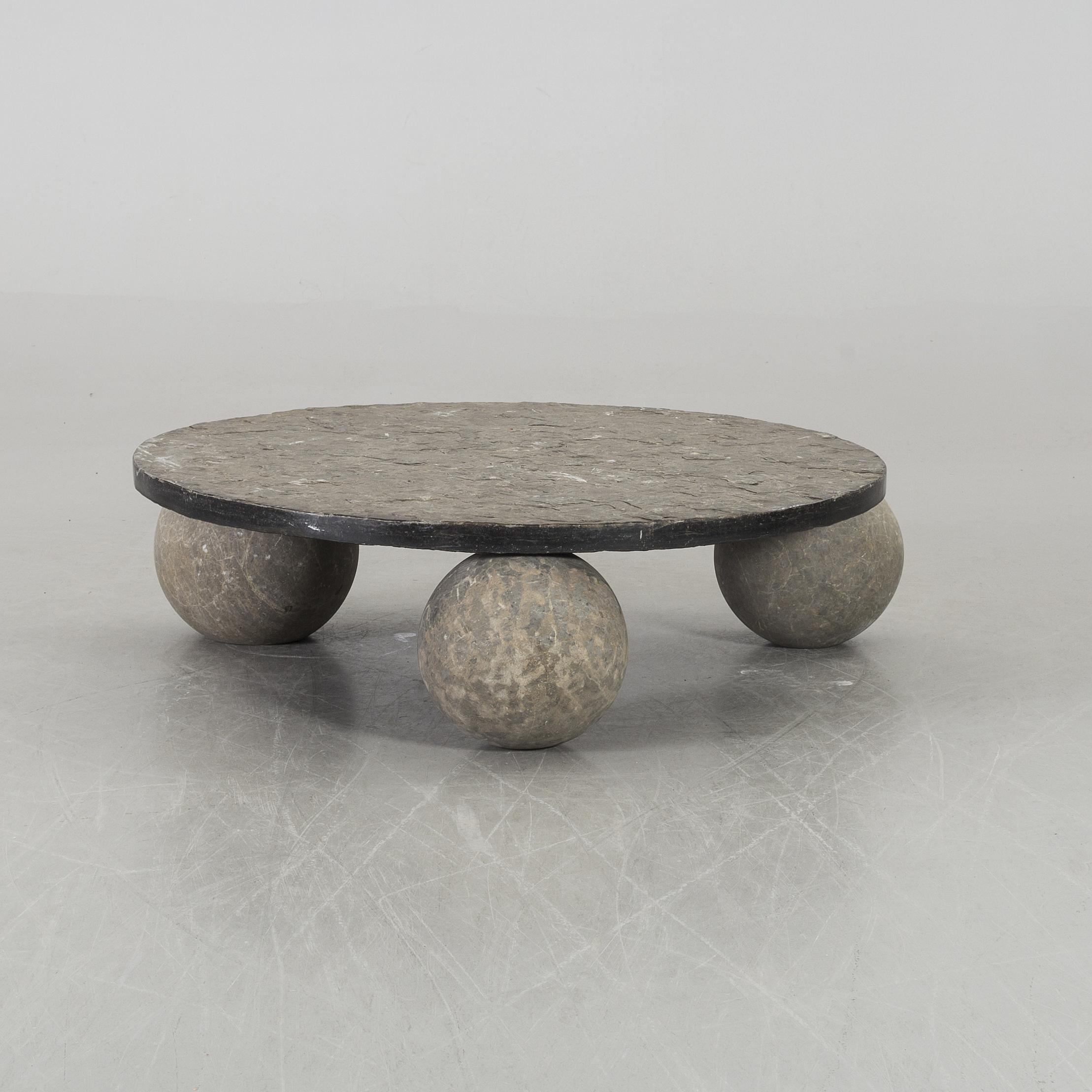 A 20th Century Stone Sofa Table Bukowskis