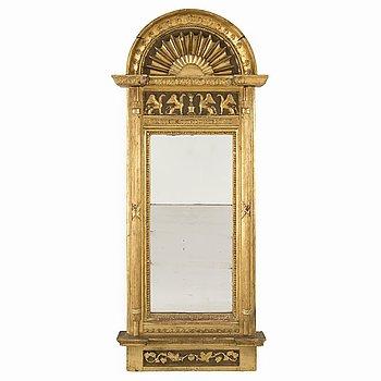 a 19th century empire mirror.
