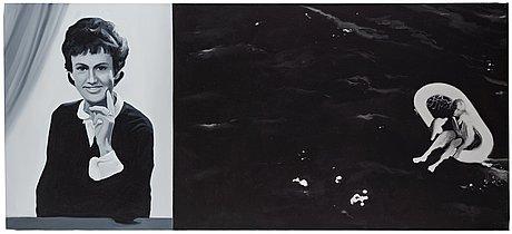 """Martin wickström, """"anita och havet""""."""