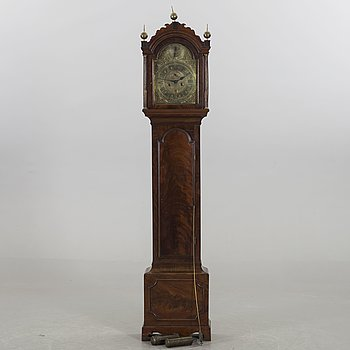 A John Bennet signed grandfather clock around 1800.