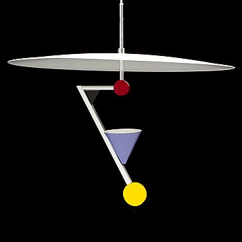 A 'Halo There' ceiling light by Olle Andersson, Boréns.