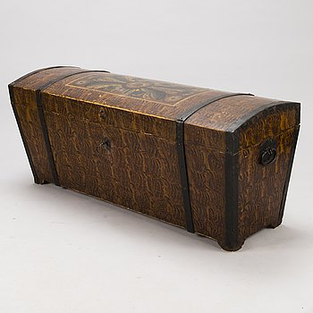 A Swedish chest, early 19th century.