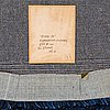 "Gunilla lagerhem ullberg, a carpet, ""stubb 24"", hand tufted, circular, the diameter ca 266 cm, designed by gunilla lagerhem-ullberg, kasthall."