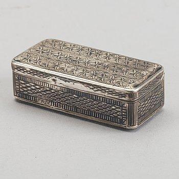 DOSA silver Moskva 1837.