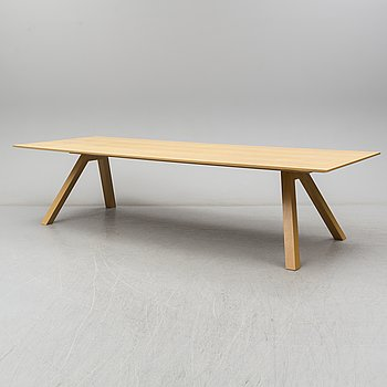 ARIK LEVY, a 'Beam' dining table, Swedese.