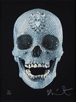 """314. Damien Hirst, """"For the love of God""""."""