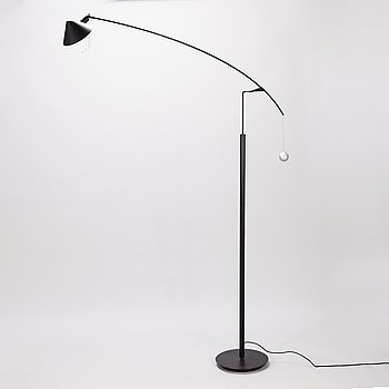 CARLO FORCOLINI, A 1980s 'Nestore Terra' floor lamp for Artemide, Italy.