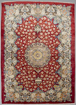A CARPET, Mashad, possibly, around 413 x 299 cm.