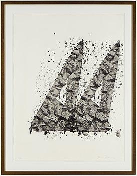SAM FRANCIS, litografi, signerad och numrerad 21/30.