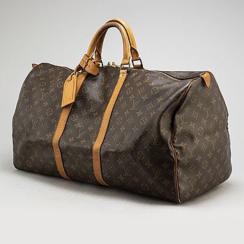 "LOUIS VUITTON, weekendbag ""Keepall 55""."