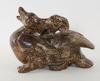 Figurin, stengods, knud kyhn, royal copenhagen.