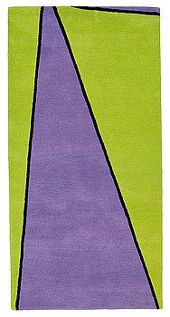 """6. Olle Baertling, MATTA, """"Yoy"""", handtuftad, Baertling/Asplund, ca 200 x 100 cm."""