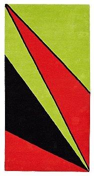 "7. Olle Baertling, MATTA, ""Erey"", handtuftad, Baertling/Asplund, ca 198,5 x 100,5 cm."