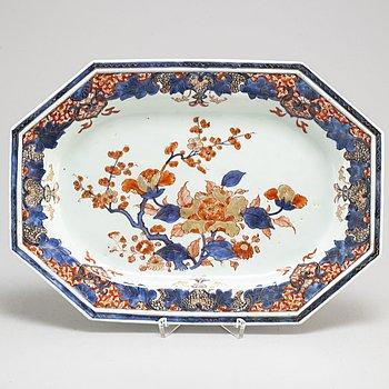STEKFAT/SERVERINGSFAT, kompaniporslin. Qingdynastin, Qianlong (1736-95).