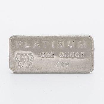 PLATINATACKA, platina 999,  31,2 g.