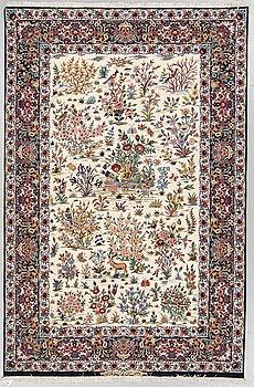 MATTA, Isfahan, Signerad Esfahan Miko Karzaadeh, ca 239 x 157 cm.