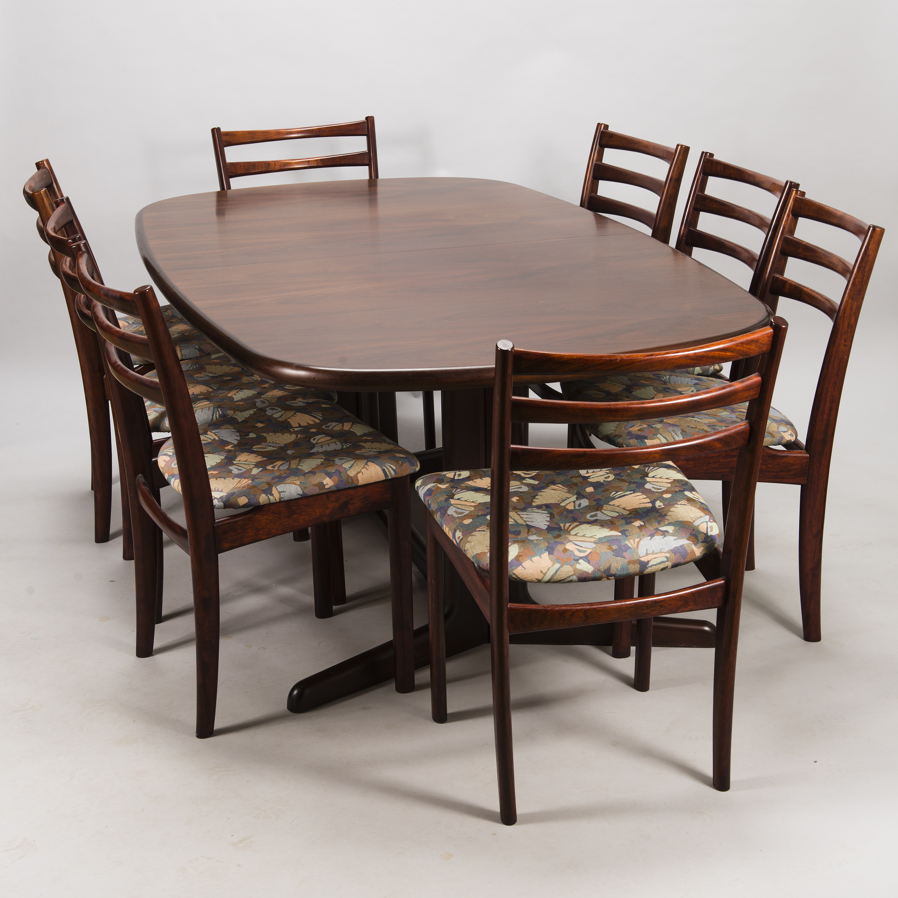 Fantastic Danish 1980 90S Dining Table With Eight Chairs Bukowskis Interior Design Ideas Tzicisoteloinfo