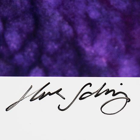 Helene schmitz, photograph, signed