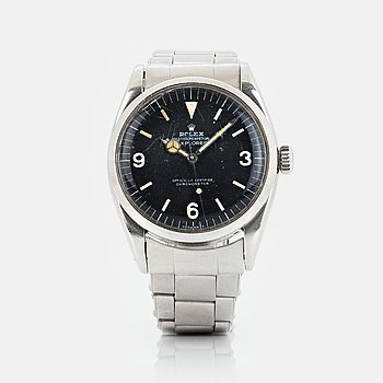 ROLEX, Oyster Perpetual, Explorer (Swiss Made), Chronometer, wristwatch, 36 mm.