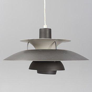 "POUL HENNINGSEN, taklampa, ""PH- 5"", för Louis Poulsen, Danmark."