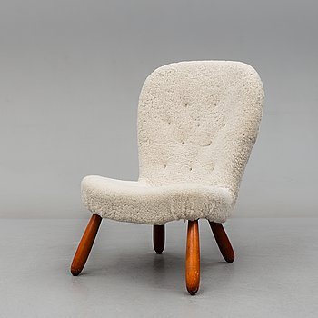 PHILIP ARCTANDER, attributed to. A 1940's-50's easy chair.