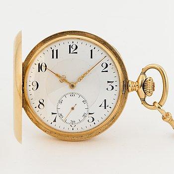 ZENITH, pocket watch, hunter, 51 mm.