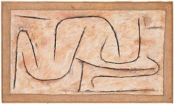 "427. Paul Klee, ""Schlangen-Bau""."