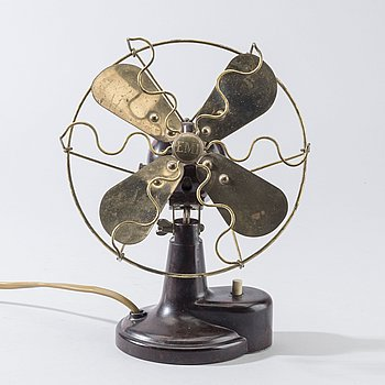 A TABLE FAN BY EMI, Utrecht, Holland, first half of/midn 20th century.