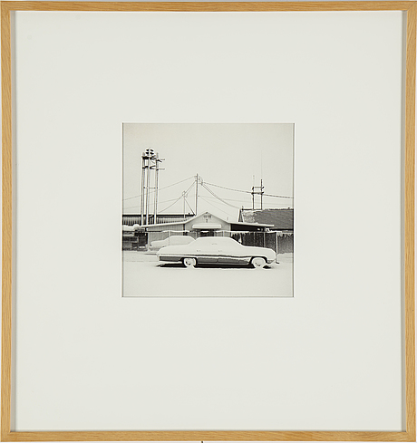 Carl hjelte, gelatin silver print, signed and dated 2002 on verso