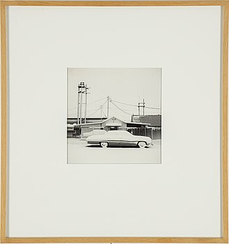CARL HJELTE, gelatin silver print, signed and dated 2002 on verso.
