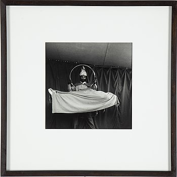 CARL HJELTE, gelatin silver print signed on verso.