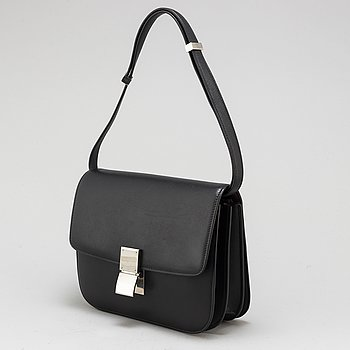 CÉLINE, a 'Medium Classic Bag in Box' calfskin handbag.
