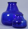 Vaser, glas, två st erik höglund.