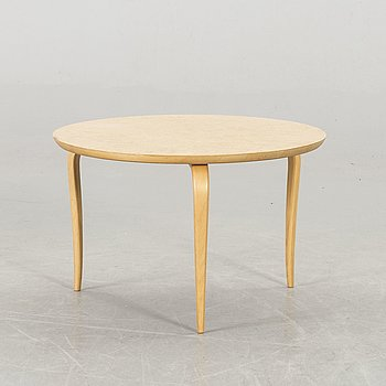 A BRUNO MATHSSON SOFA TABLE BY DUX.