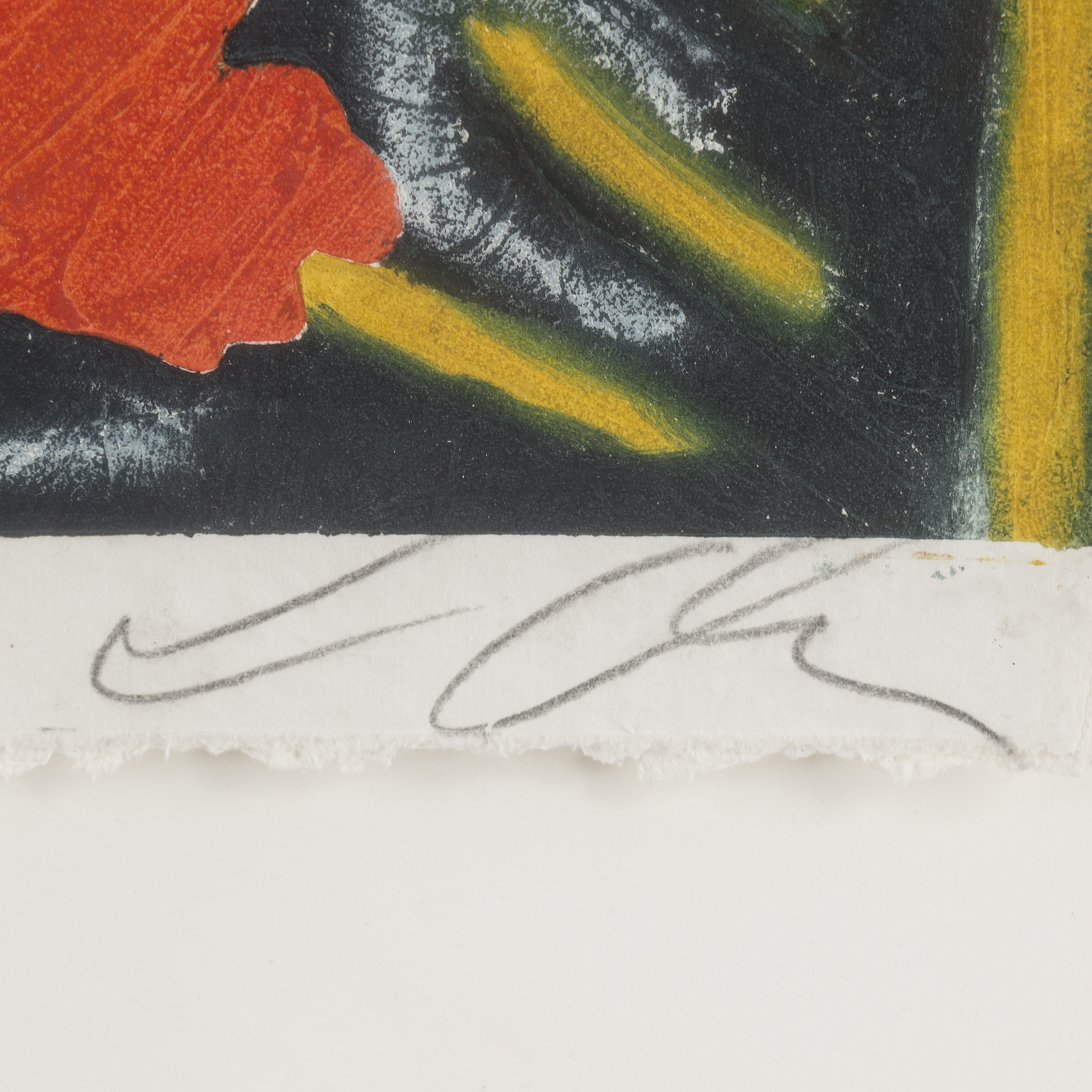 SANDRO CHIA, carborundum etching, signed and numbered 39/50