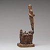 A gilt bronze buddha, thailand, ratanakosin. late 18th century /19th century.