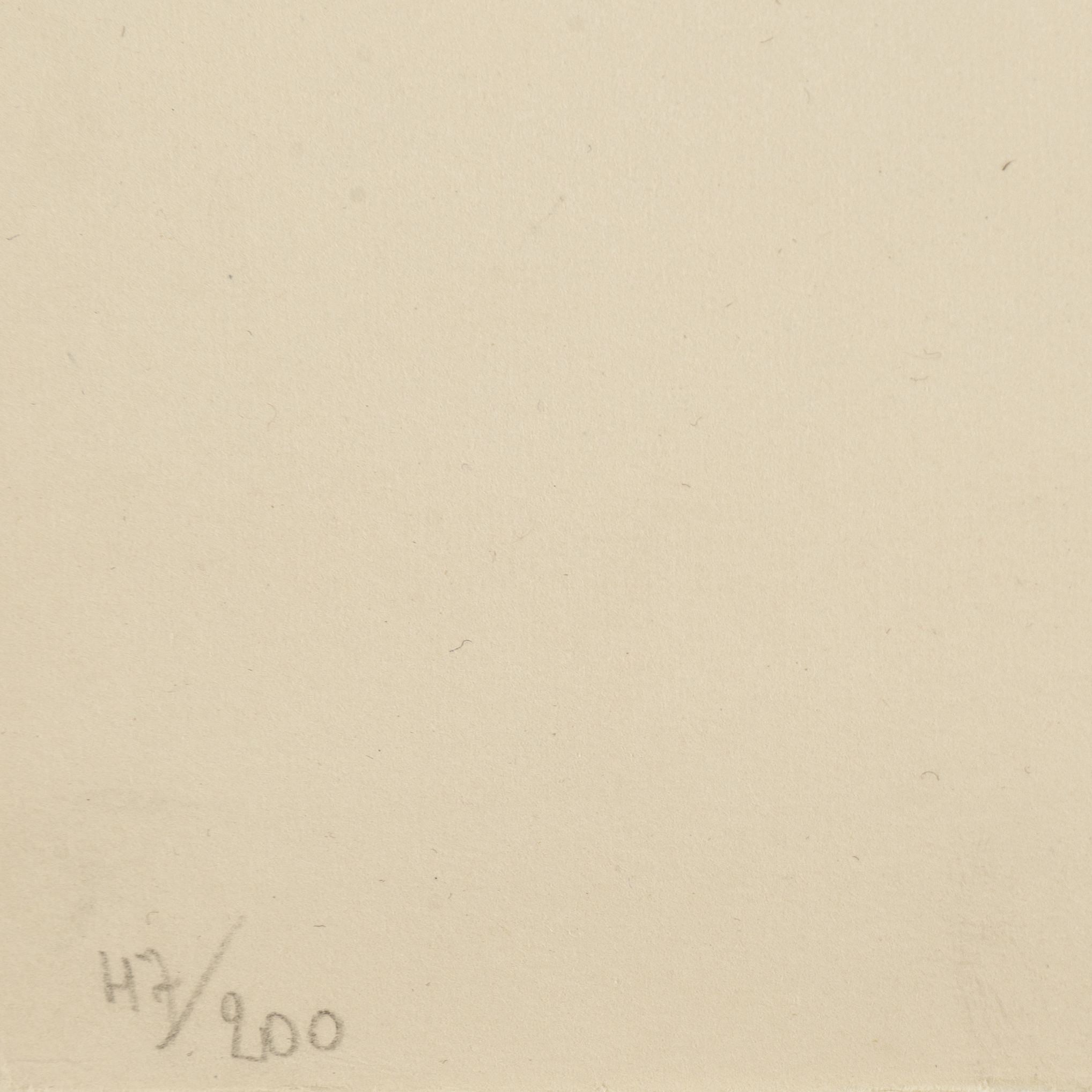 JEAN ARP, Lithograph, Signed And Numbered 47/200.