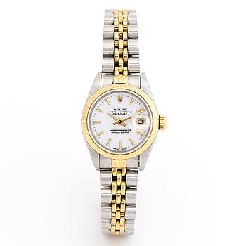 ROLEX, Datejust, wristwatch, 26 mm.