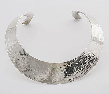 REY URBAN halsring sterling silver Stockholm 2004, ca 250 g.