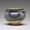 A purple-splashed lavender glazed 'jun' jar, song dynasty (960-1279).