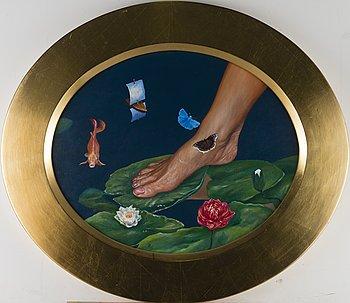 RISTO SUOMI, oil on canvas, signed.
