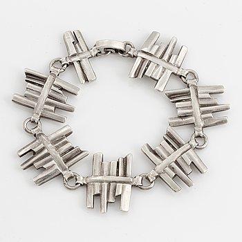 CLAËS E. GIERTTA, Bracelet, sterlingsilver.